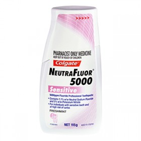 Colgate Neutrafluor 5000 Sensitive Toothpaste   Toothpaste, Tooth Mousse & Oral Gels   Toothpaste   Colgate
