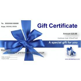 $25 Dental Shop Gift Certificate   Gift Ideas   Gift Certificates
