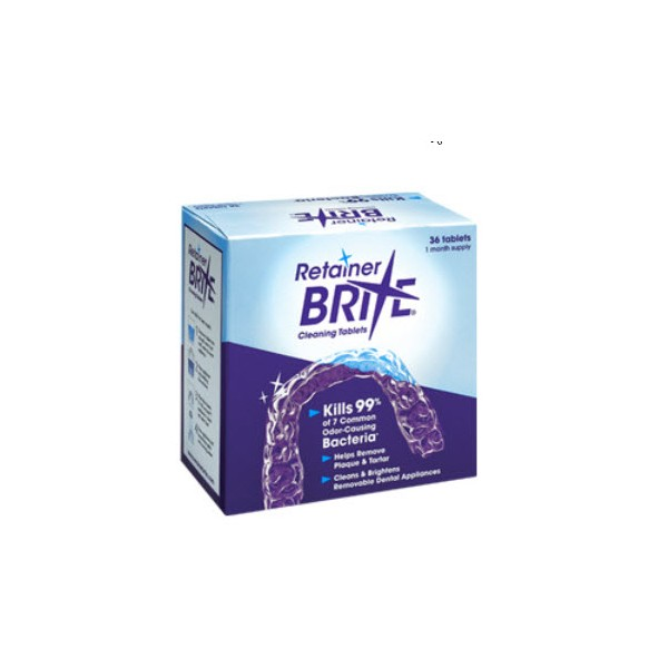 Retainer Brite Cleaning Tablets Home Denture Care Denture