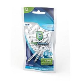 Gumchucks Adult Profloss 36 refill pack   Dental Floss & Interdental Cleaning   Dental Floss   Interdental Cleaning   Gumchucks