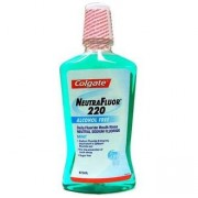 Colgate Neutrafluor 220 Alcohol Free Mouthwash 473 mL | Mouthwashes