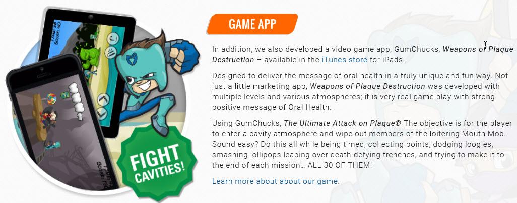 Gumchucks game app